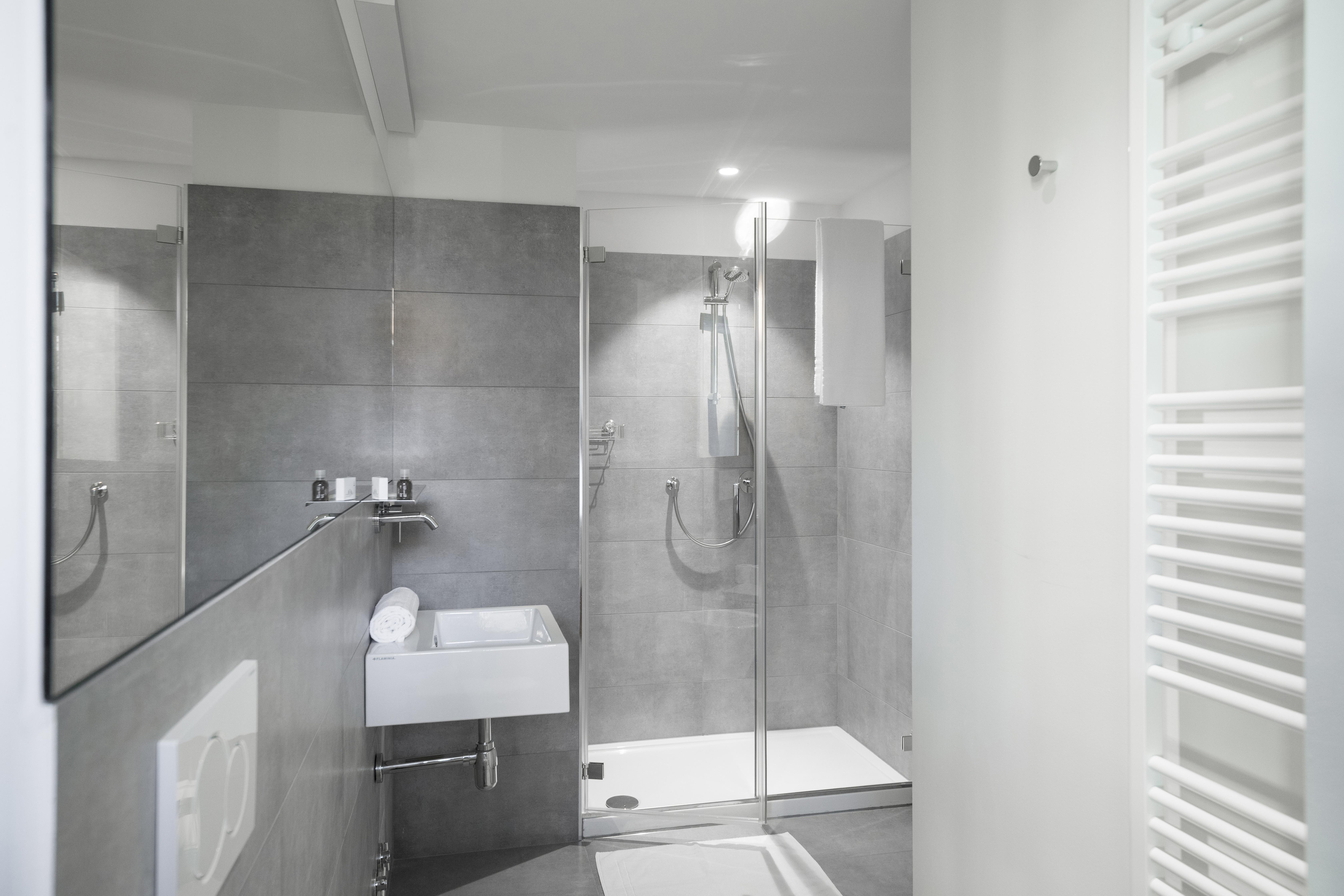 bagno camere hotel la ripa bergamo